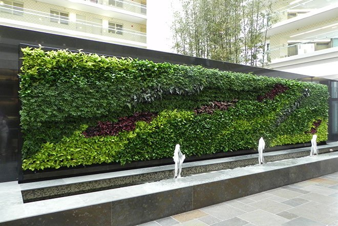 How To Make A Living Wall these amazing living walls make us green with envy