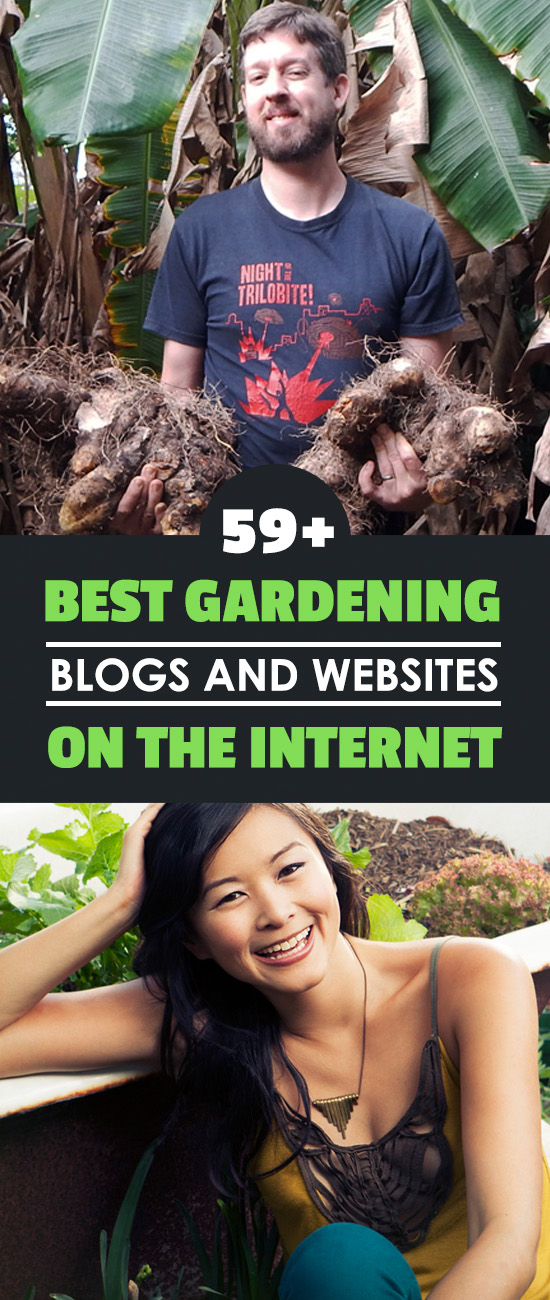 These are some of the best gardening blogs and websites that I've come across - 59 of them. Read them and learn awesome gardening tips and tricks.