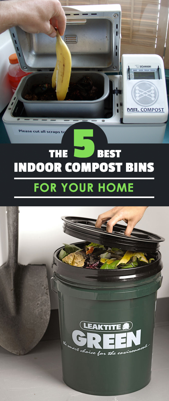 The 5 Best Indoor Compost Bins For Your Home