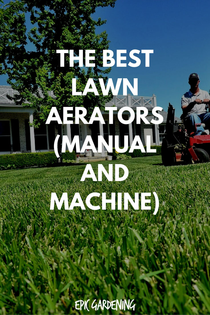 lawn aerator machine