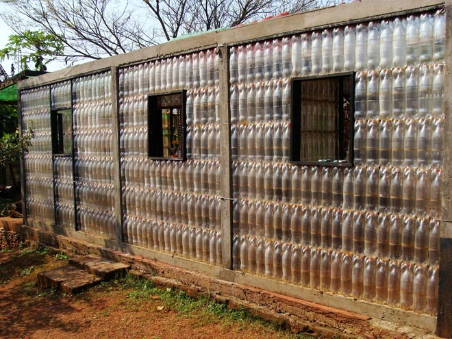Plastic Bottle House