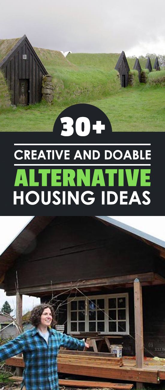 Alternative housing ideas are needed now more than ever. As gardeners, we should look at our homes as well as our gardens to see if we're living well.
