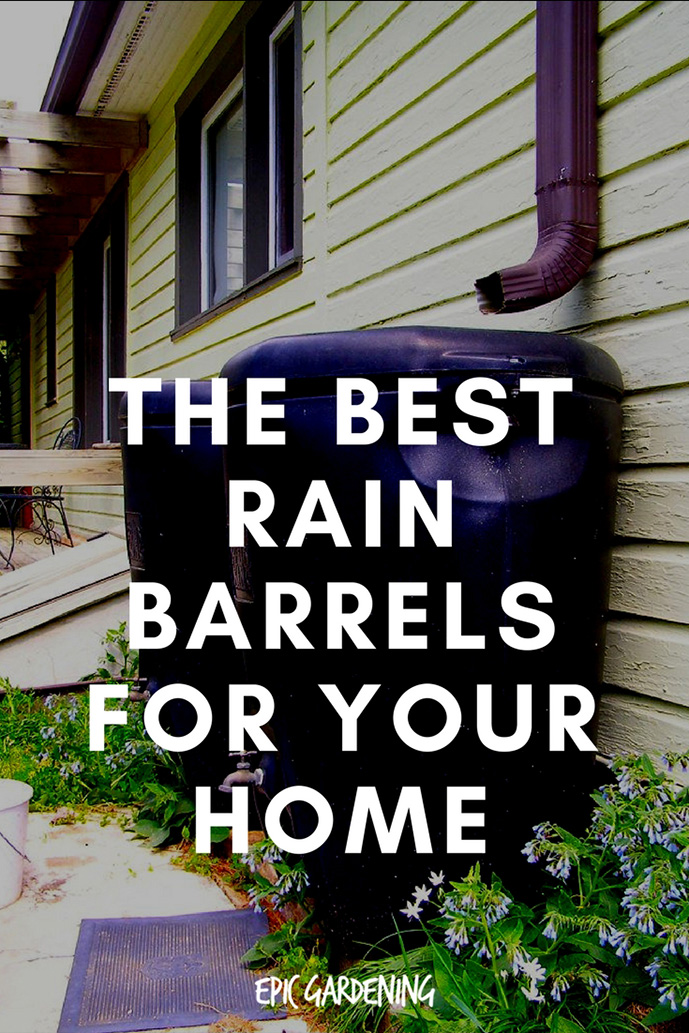 The Best Rain Barrels For Your Home