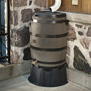 RTS Home Accents 50 Gallon Rain Barrel
