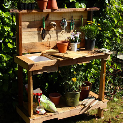 65 Diy Potting Bench Plans Completely Free