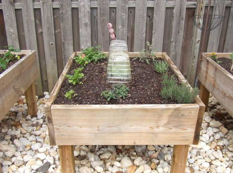50 free raised bed garden plans and ideas that are easy for Above ground vegetable garden