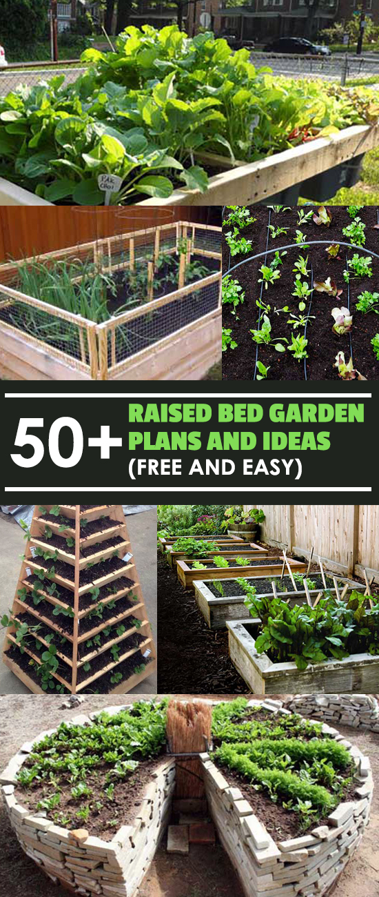 50 free raised bed garden plans and ideas that are easy for How much does it cost to print blueprints