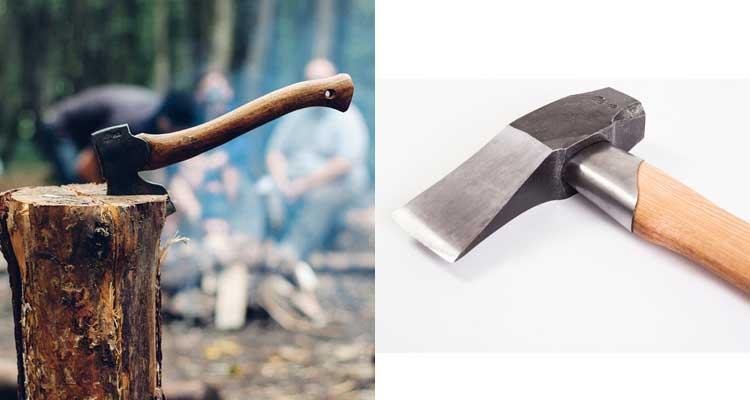 Splitting axe vs. maul